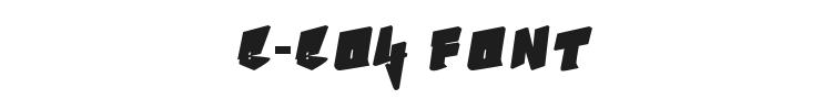 B-Boy Font