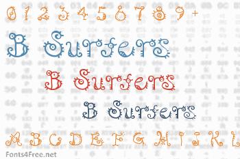 B Surfers Font