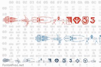 B5 Symbols Font