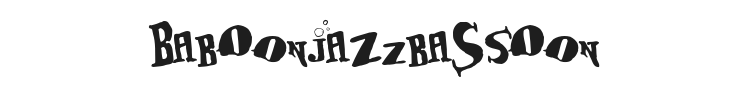 BabOonjaZzbaSsOon Font Preview
