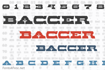 Baccer Font