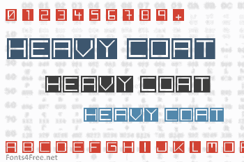 Back to heavy coat fat ground Font