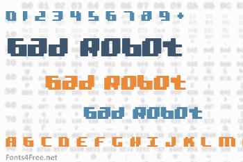 Bad Robot Font