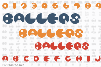 Ballers Font