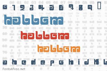 Ballom Font