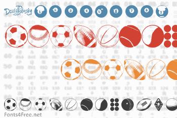 Balls Balls and More Balls Font