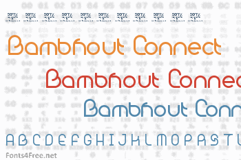 Bambhout Connect Font