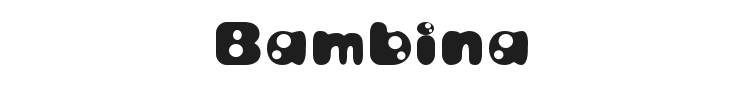 Bambina Font Preview