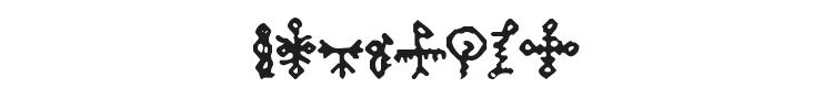 Bamum Symbols 1