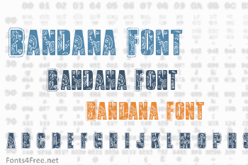 Bandana Font
