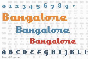 Bangalore Font