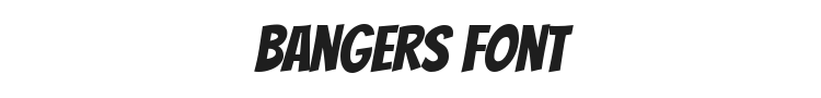 Bangers Font Preview