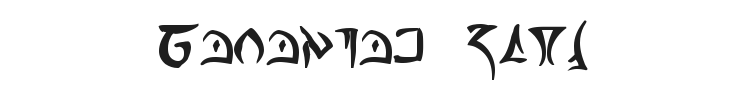 Barazhad Font