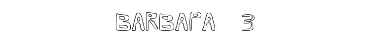 Barbapa 3 Font Preview