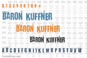 Baron Kuffner Font