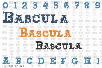 Bascula Font