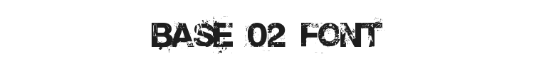 Base 02 Font Preview
