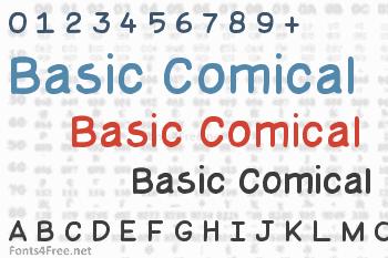 Basic Comical Font