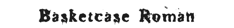 Basketcase Roman Font Preview