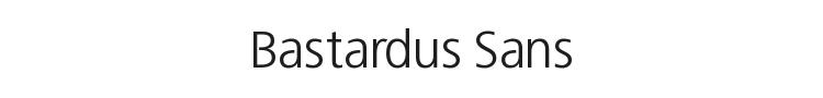 Bastardus Sans Font