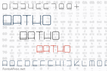Batho Font