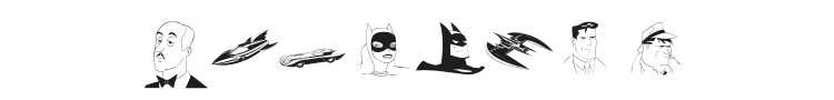 Batman Font Preview