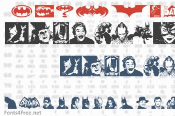 Batman The Dark Knight Font