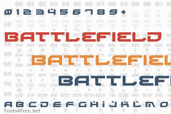 Battlefield Font