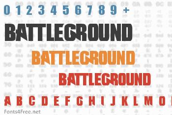 Battleground Font
