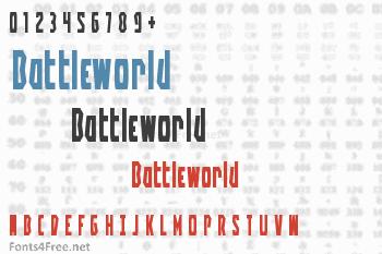 Battleworld Font