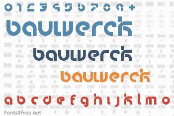 Bauwerck Font