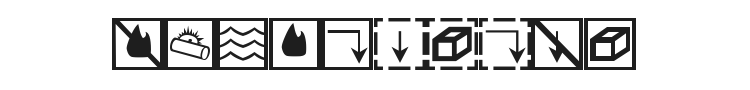 BCMELP EPD Symbols Font Preview