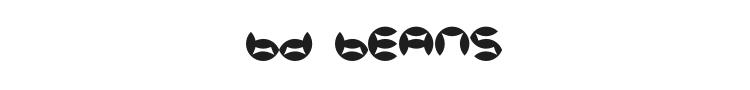 BD Beans Font Preview