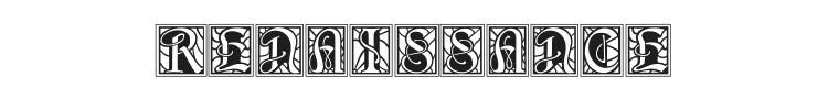 BD Renaissance Font Preview