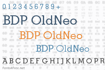 BDP OldNeo Font