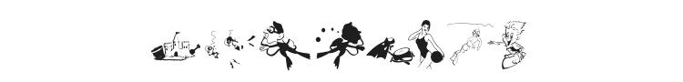 Beach Bats Font