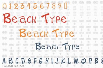 Beach Type Font
