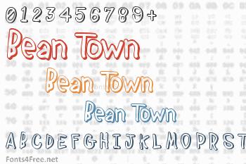 Bean Town Font
