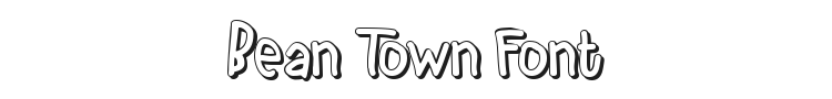 Bean Town Font Preview