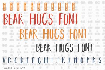 Bear Hugs Font