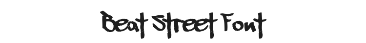 Beat Street Font Preview