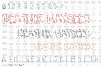 Beatnik Hayseed Font