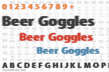 Beer Goggles Font