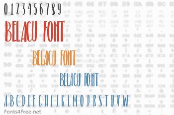 Belacu Font