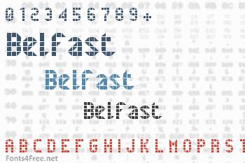 Belfast Font