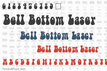 Bell Bottom Laser Font