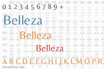Belleza Font
