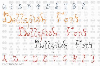 Bellyfish Font