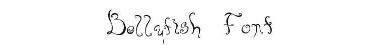 Bellyfish Font Preview
