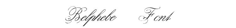 Belphebe Font